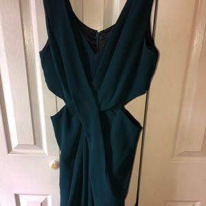 INC Emerald Green Jumpsuit
